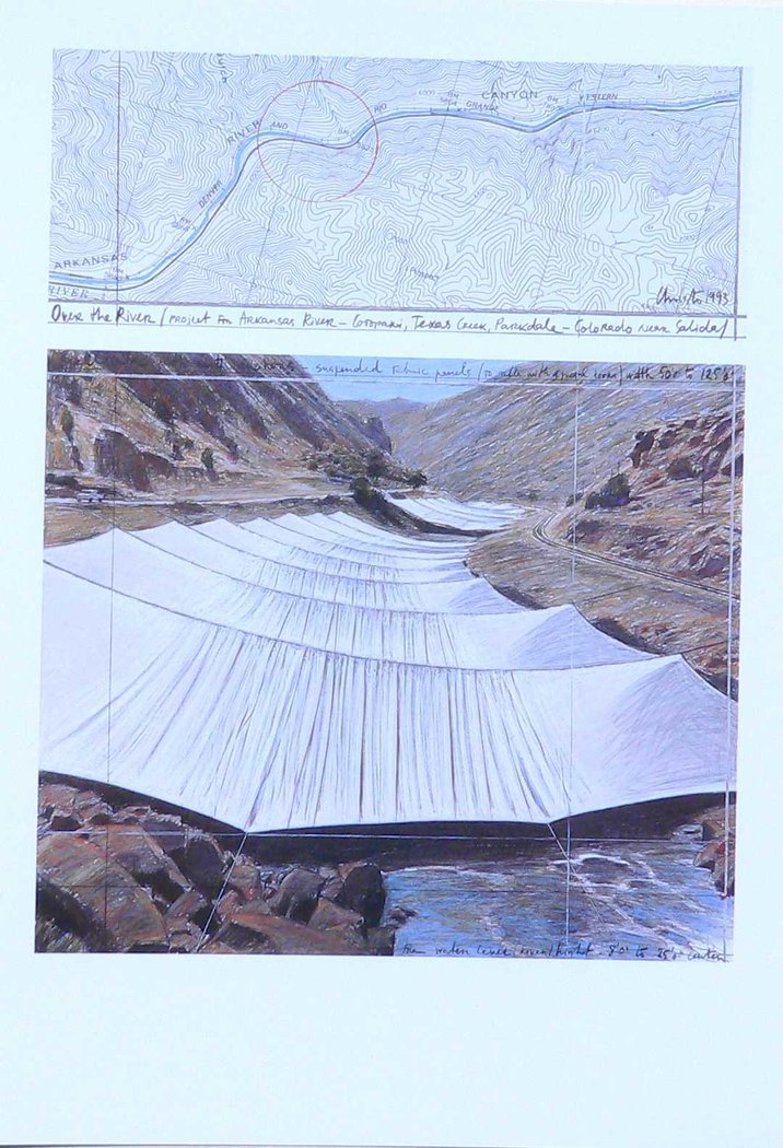 Christo - Over the River I