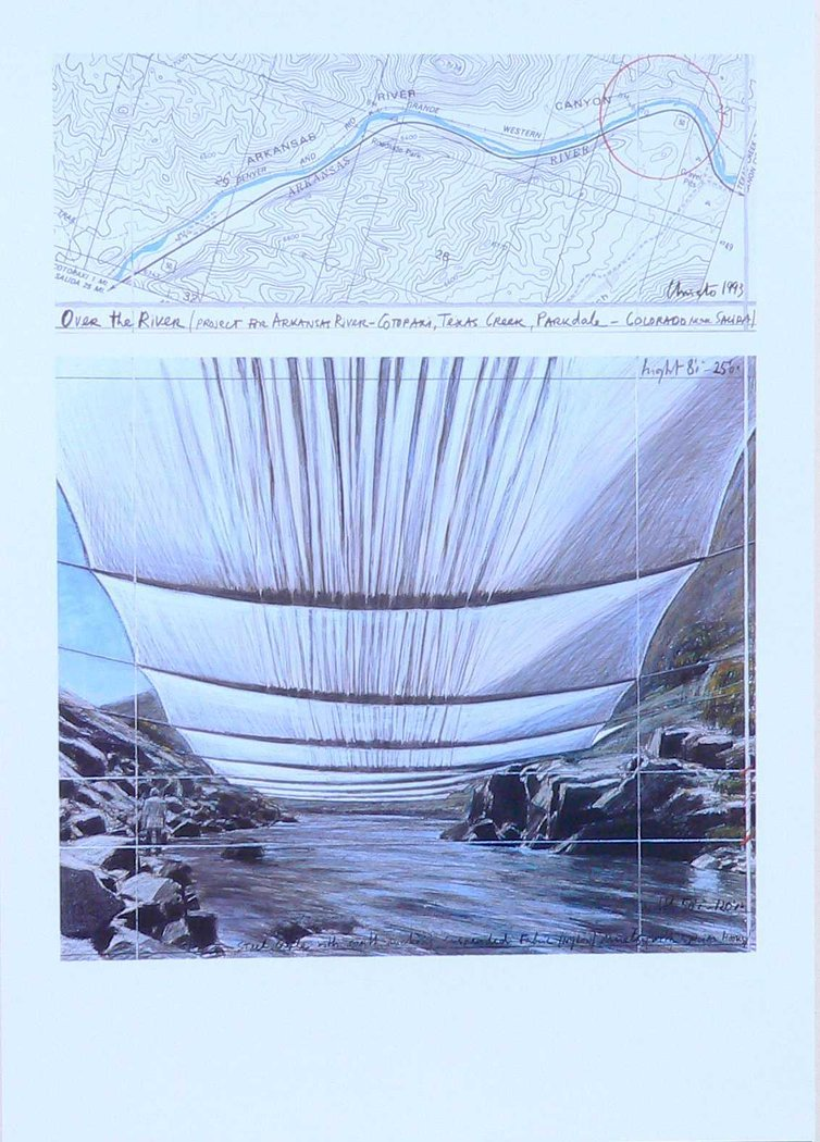 Christo - Over the River II