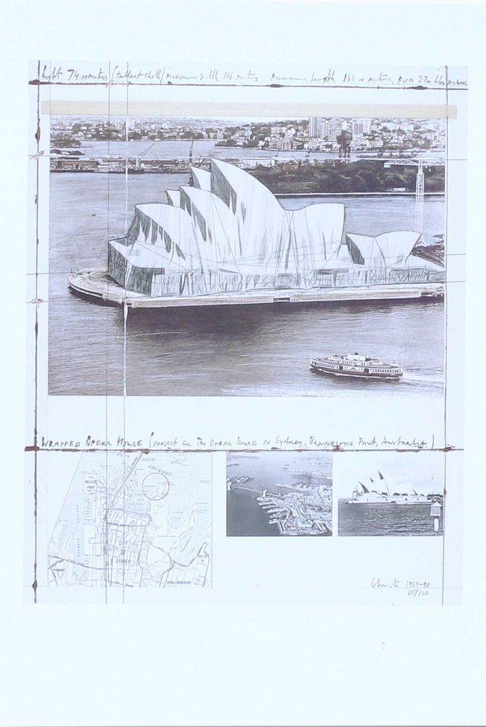 Christo - Wrapped Opera House