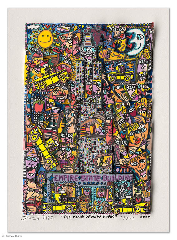 James Rizzi - THE KING OF NEW YORK