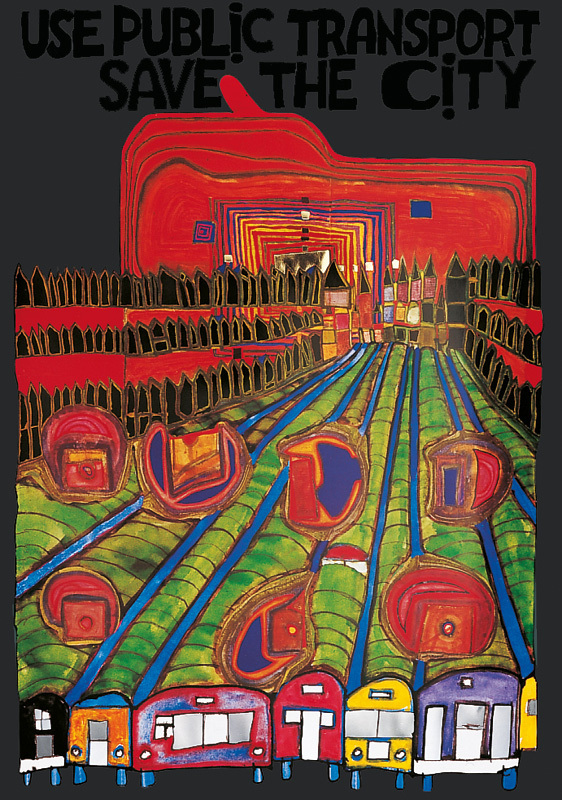 Hundertwasser - SAVE THE CITY