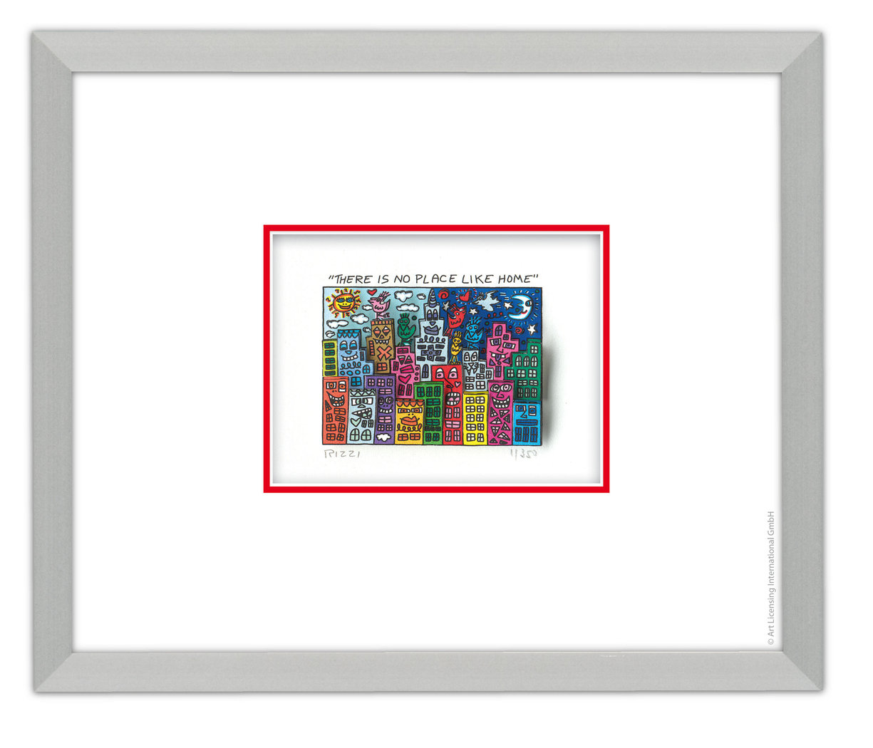 James Rizzi There Is No Place Like Home Exklusiv Bei