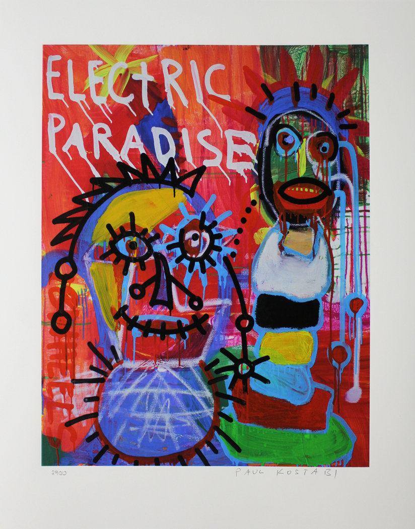 Paul Kostabi - Electric paradise