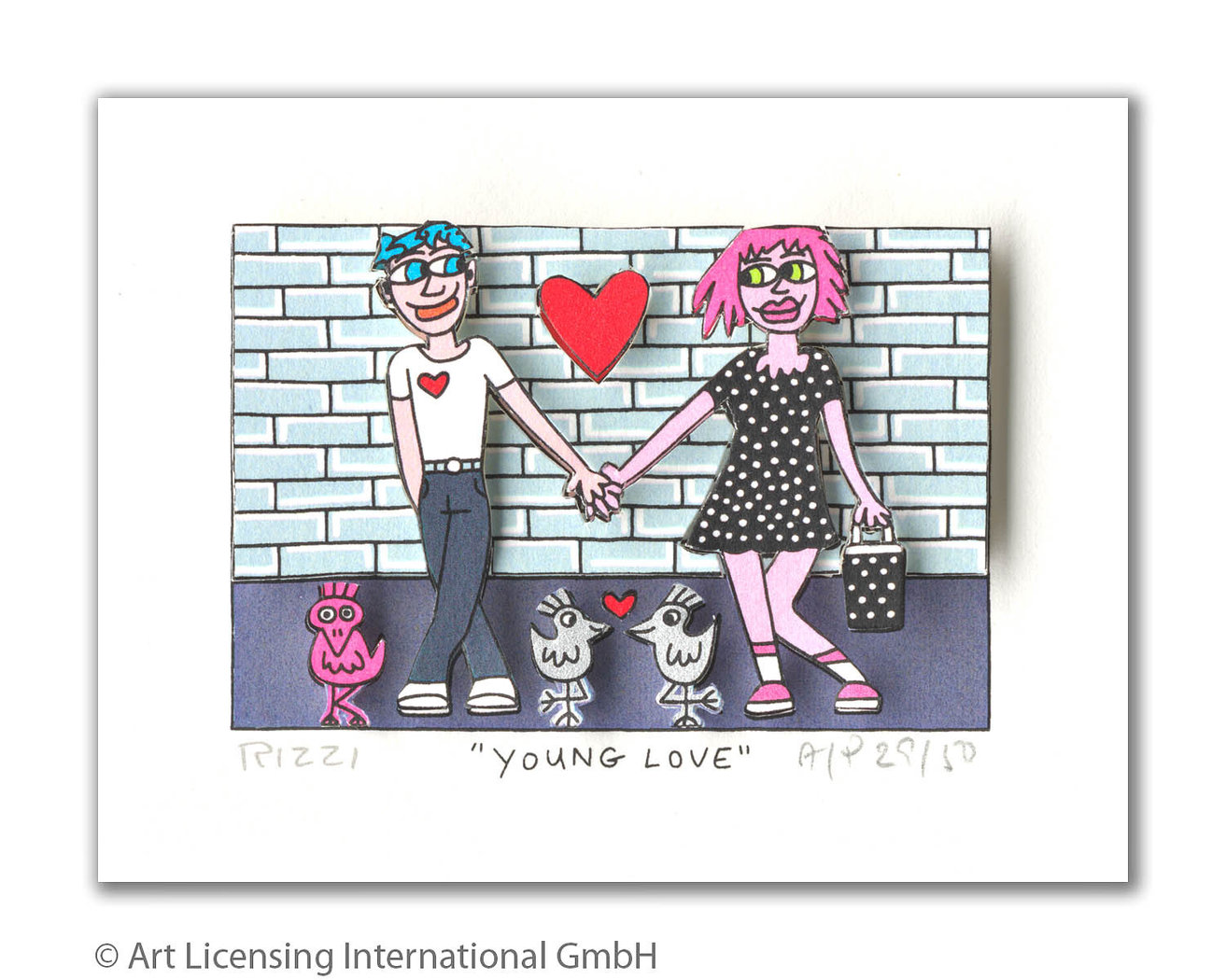 James Rizzi - YOUNG LOVE