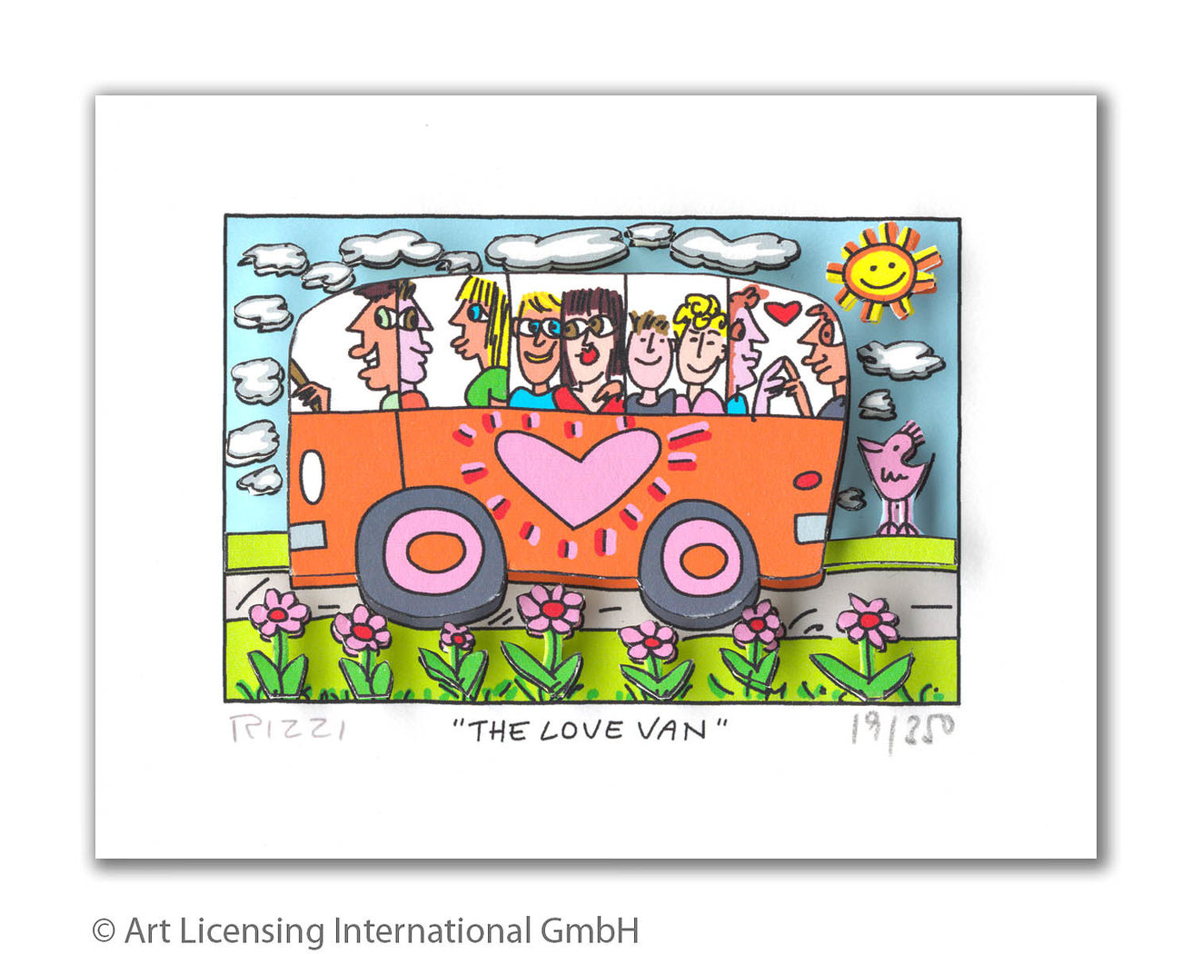 James Rizzi - THE LOVE VAN