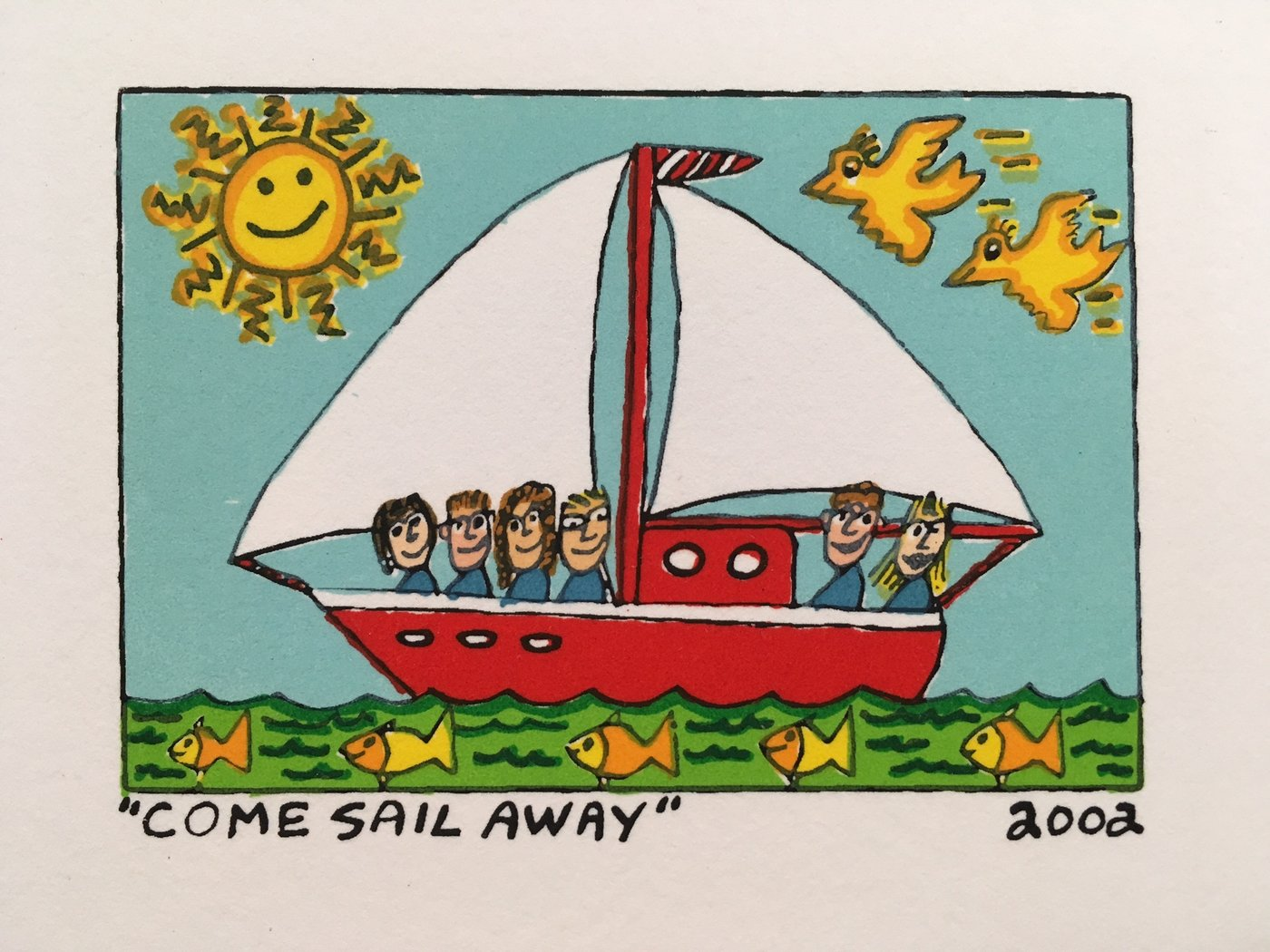 James Rizzi - COME SAIL AWAY