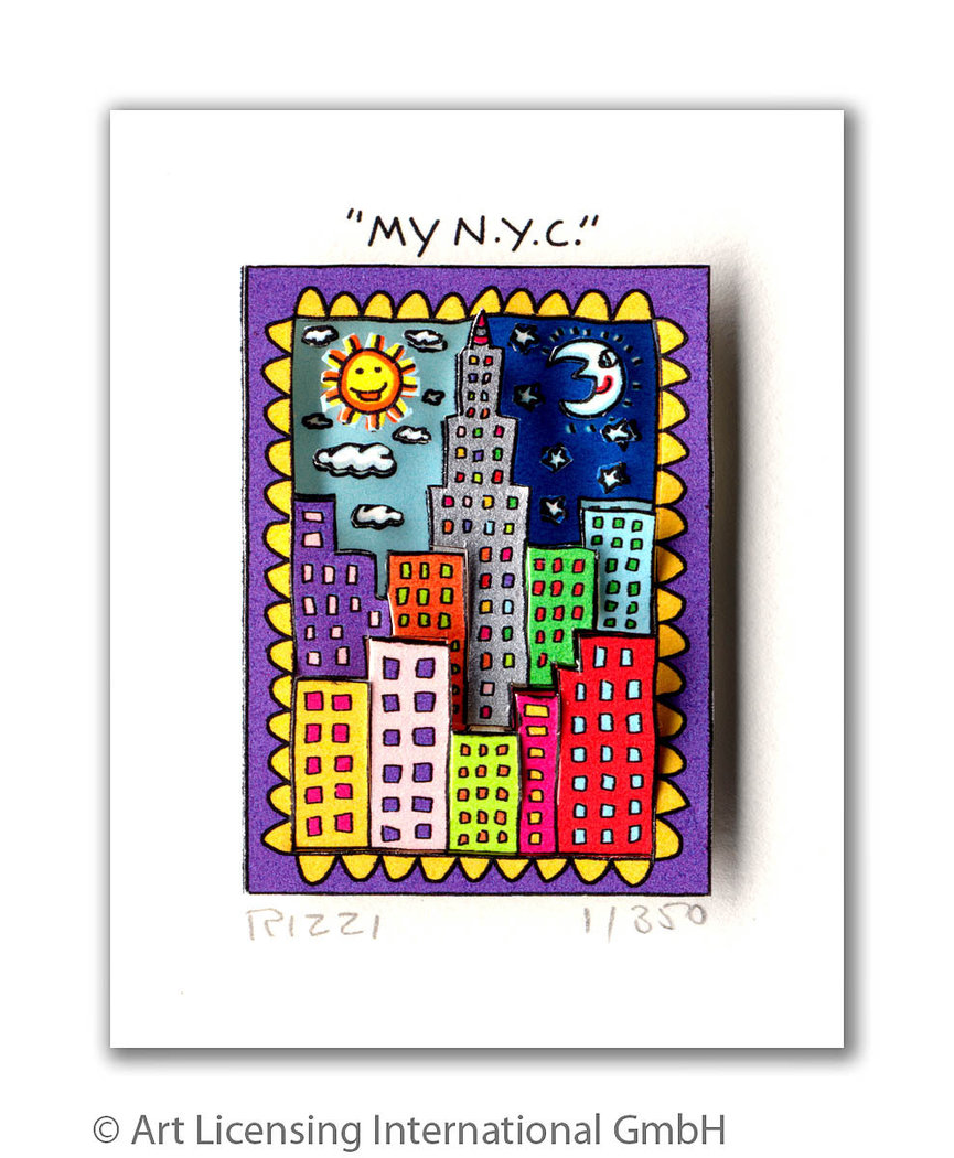 James Rizzi - MY N.Y.C.