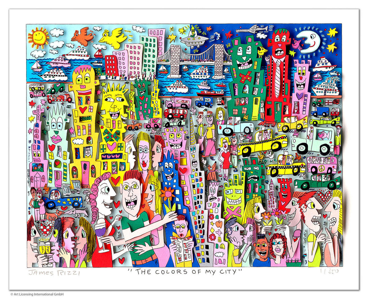 James Rizzi - THE COLORS OF MY CITY