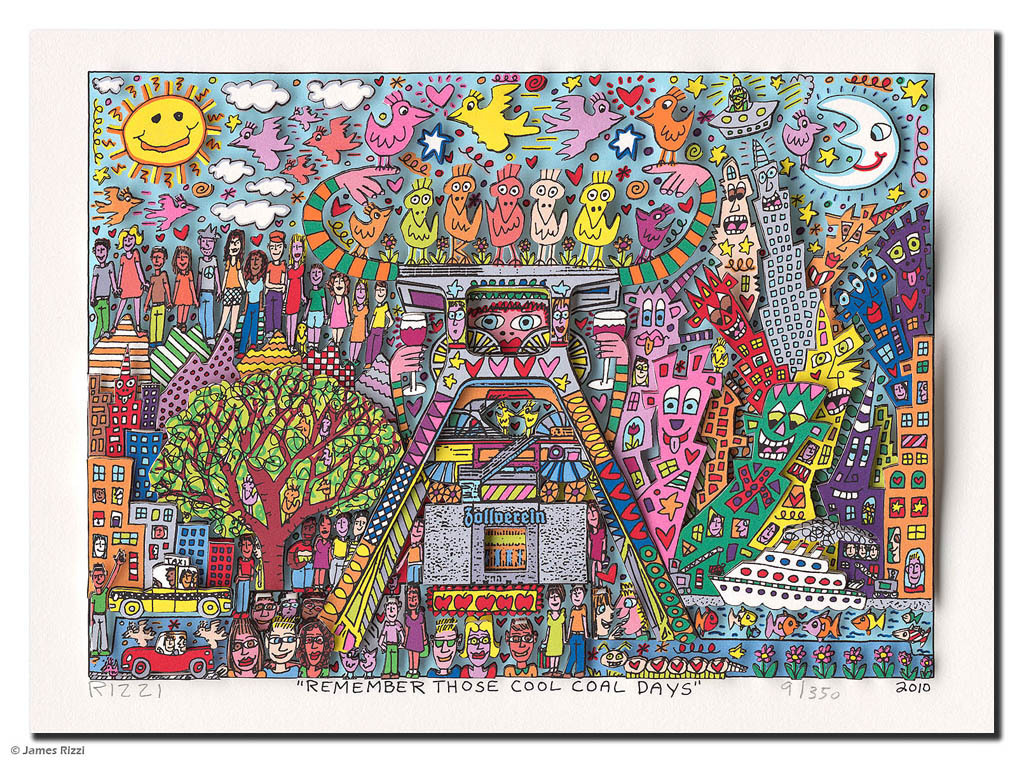 James Rizzi - REMEMBER THESE COOL COAL DAYS