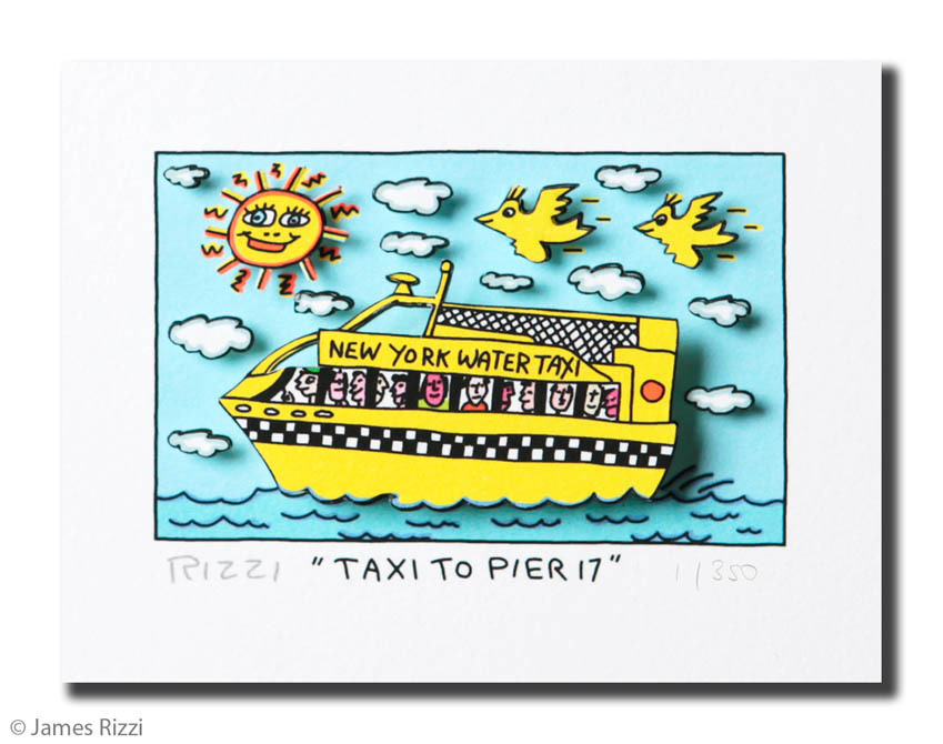 James Rizzi - TAXI TO PIER 17