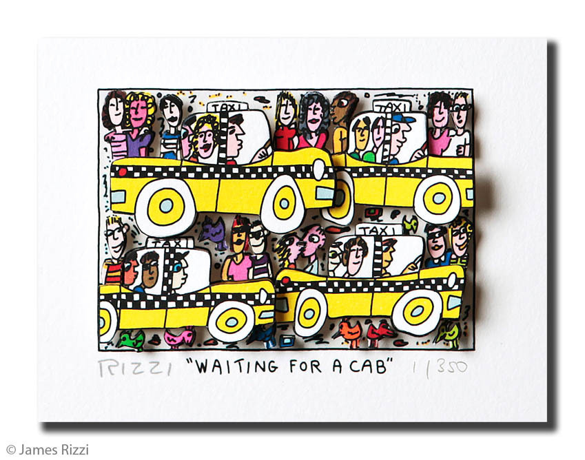 James Rizzi - WAITING FOR A CAB