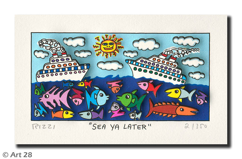 James Rizzi - SEA YA LATER