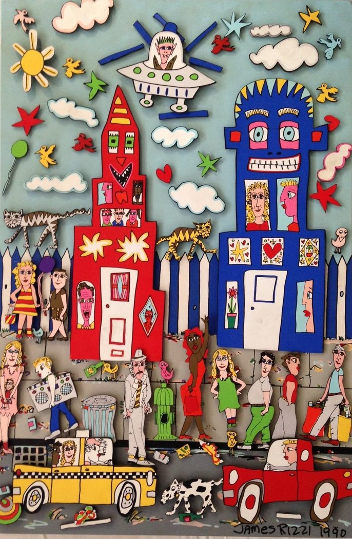 James Rizzi - MOVIN'ON