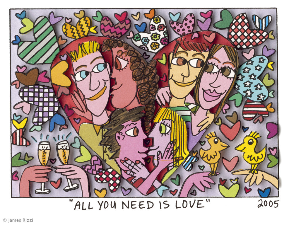 James Rizzi - ALL YOU NEED IS LOVE