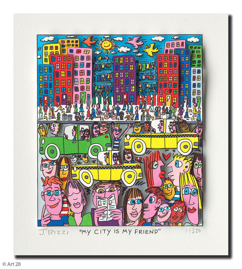 James Rizzi - MY CITY IS MY FRIEND