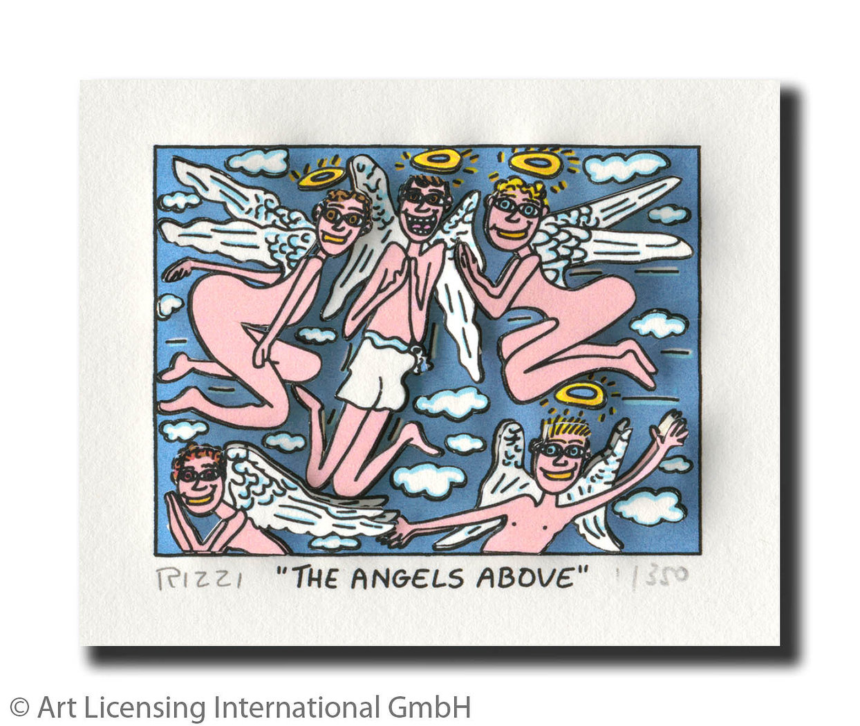 James Rizzi - THE ANGELS ABOVE