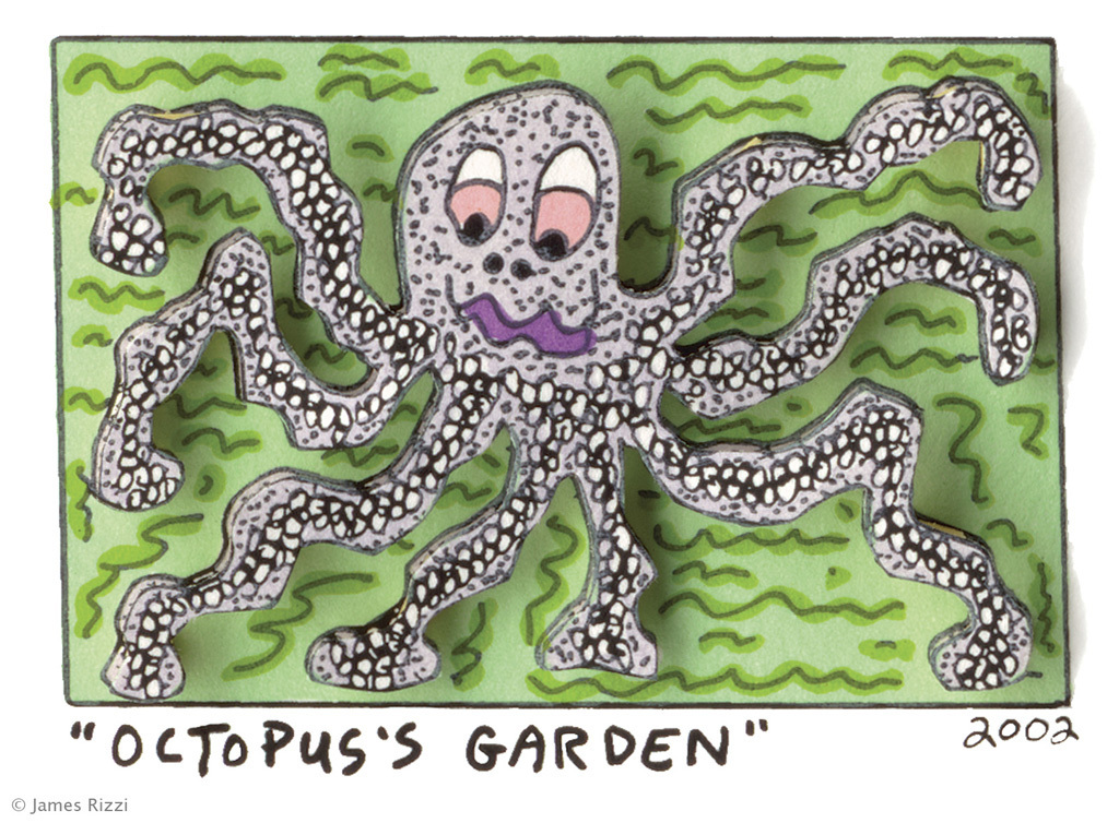 James Rizzi - OCTOPUS'S GARDEN