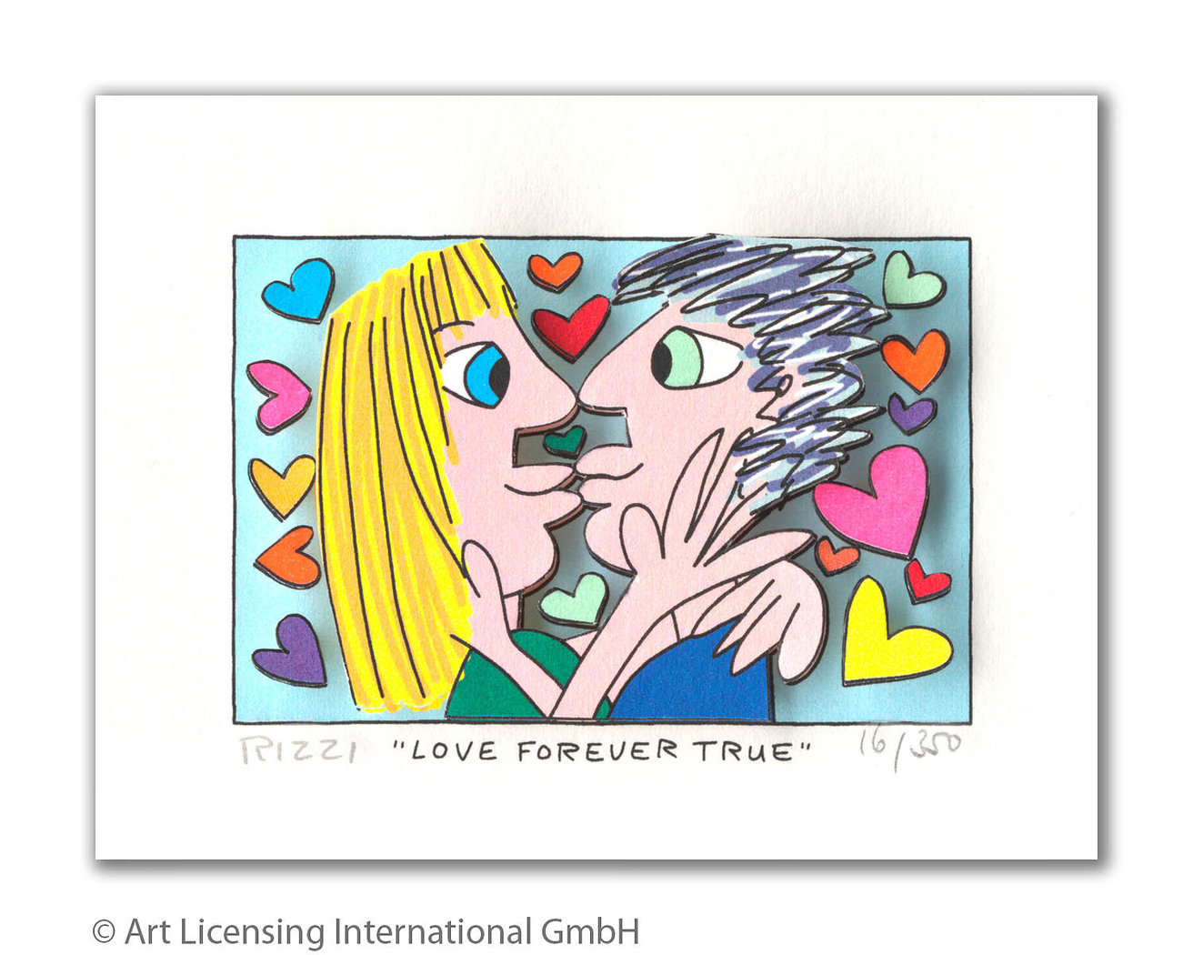 James Rizzi - LOVE FOREVER TRUE