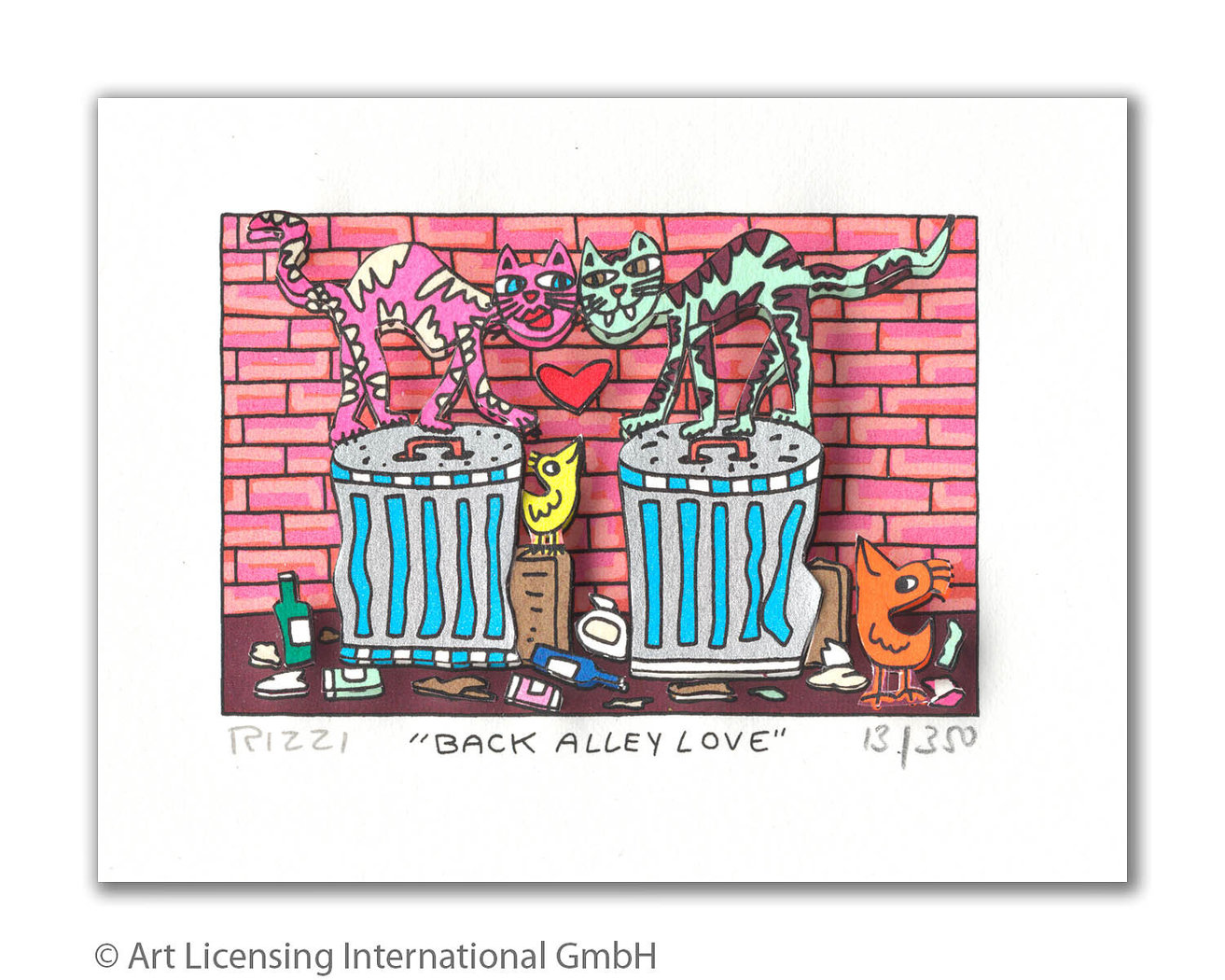 James Rizzi - BACK ALLEY LOVE