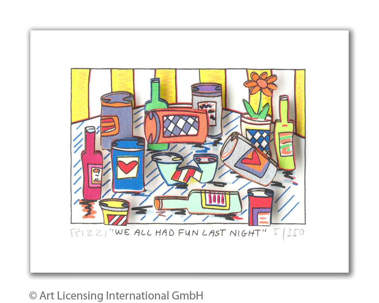 James Rizzi - WE ALL HAD FUN LAST NIGHT