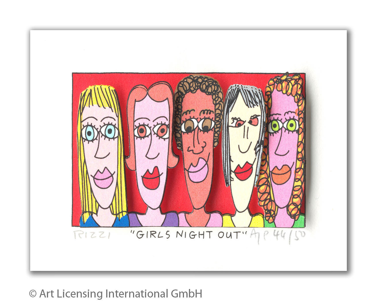 James Rizzi - GIRLS NIGHT OUT
