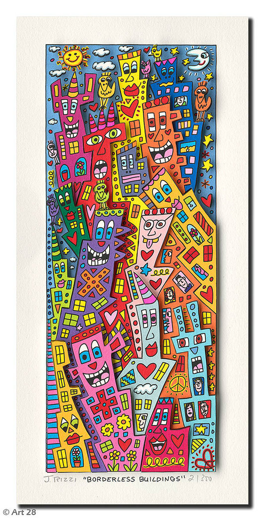 James Rizzi - BORDERLESS BUILDINGS