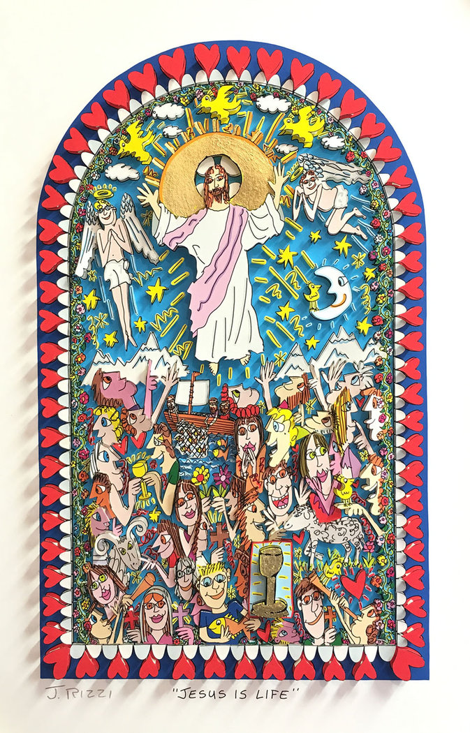 James Rizzi - JESUS IS LIFE