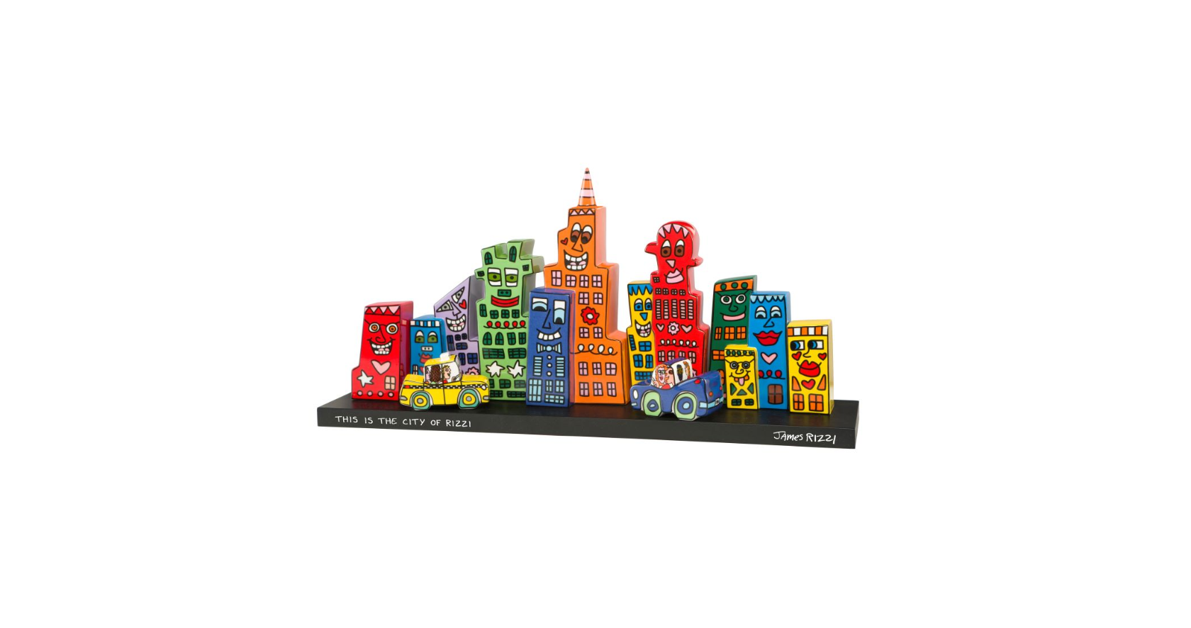 James Rizzi - Mini Skyline