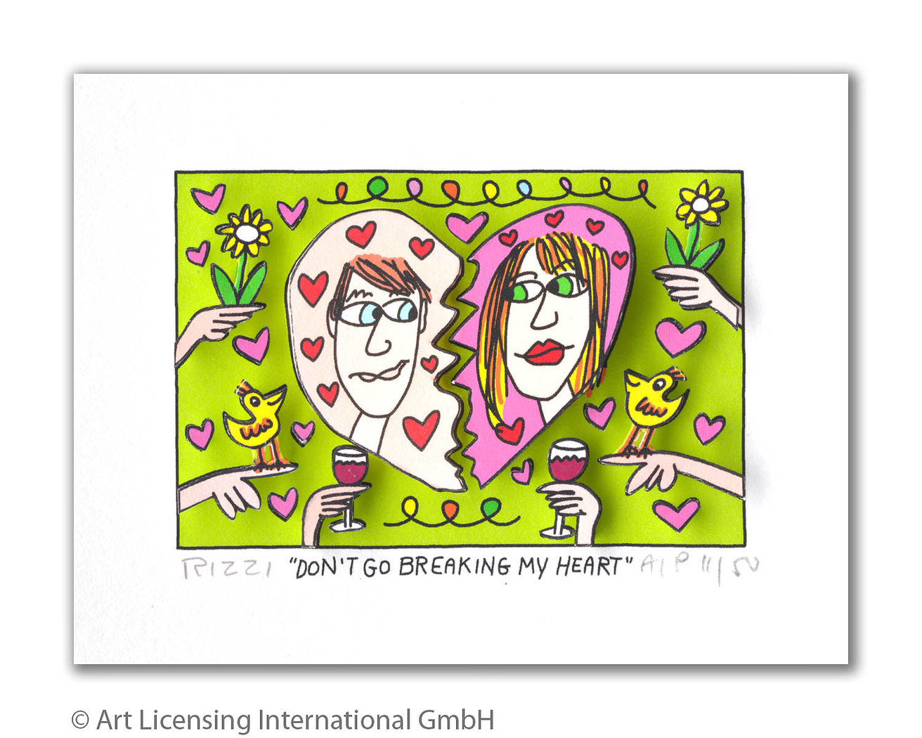 James Rizzi - DON'T GO BREAKING MY HEART