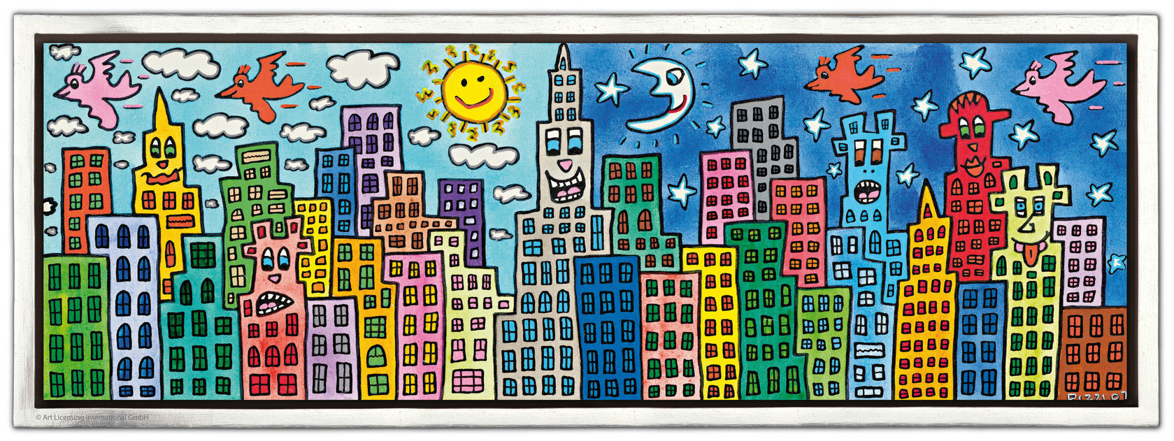 James Rizzi - MY CANDY-COLORED CITY OF LOVE