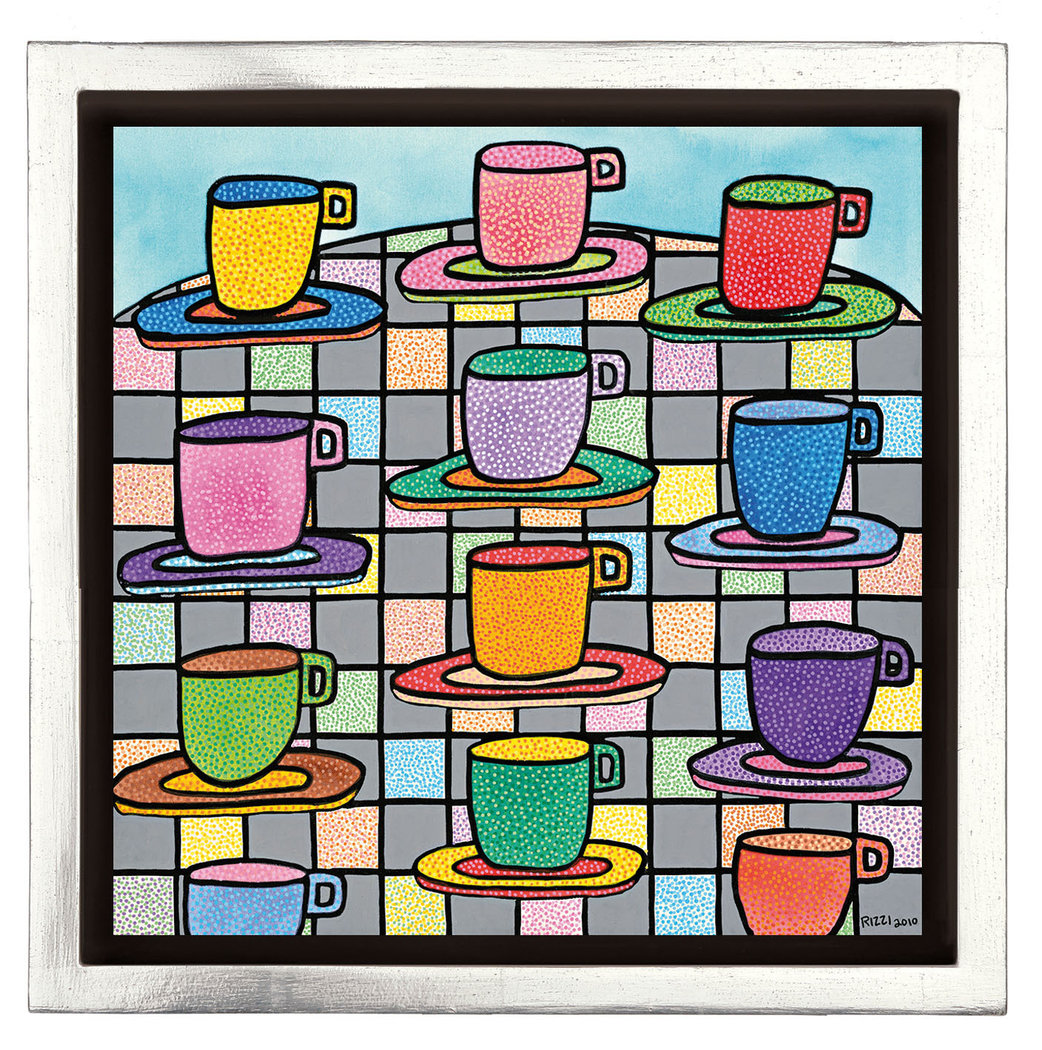 James Rizzi - THE MOST COLORFUL CUPS OF COFFEE