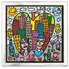 James Rizzi - YOU ARE THE APPLE OF MY EYE inkl. Rahmen