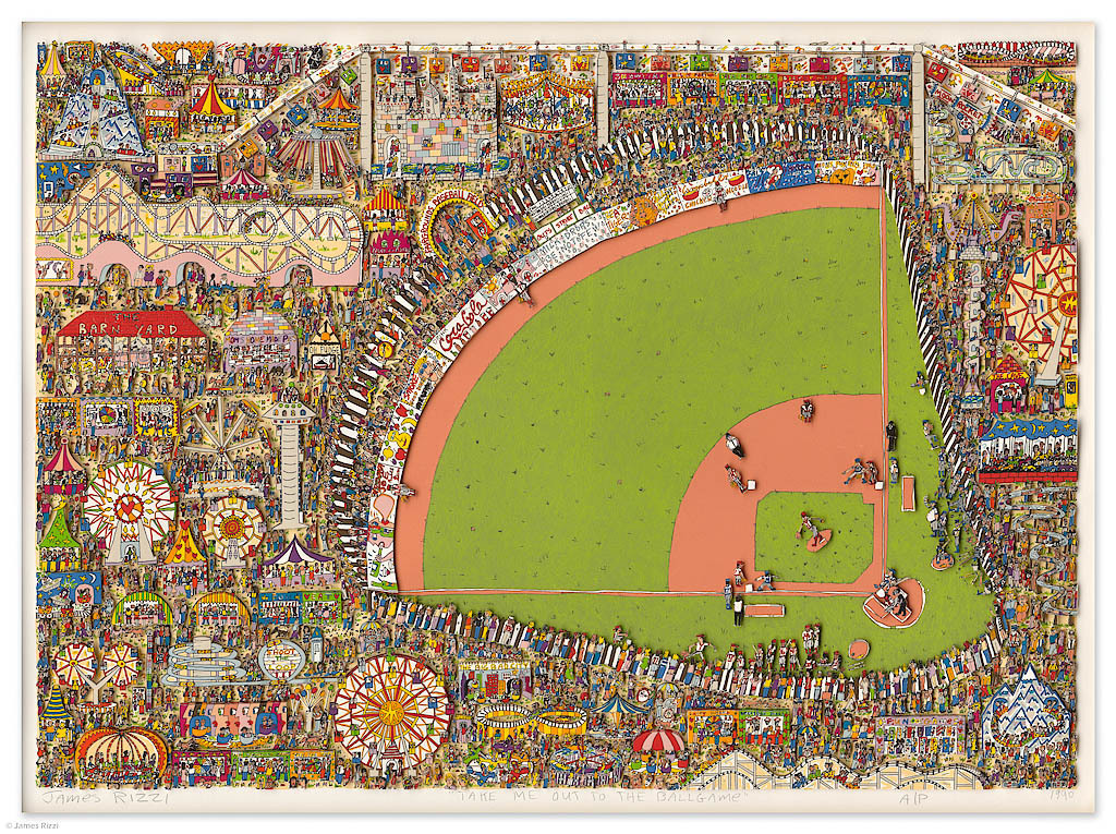James Rizzi - TAKE ME OUT TO THE BALLGAME