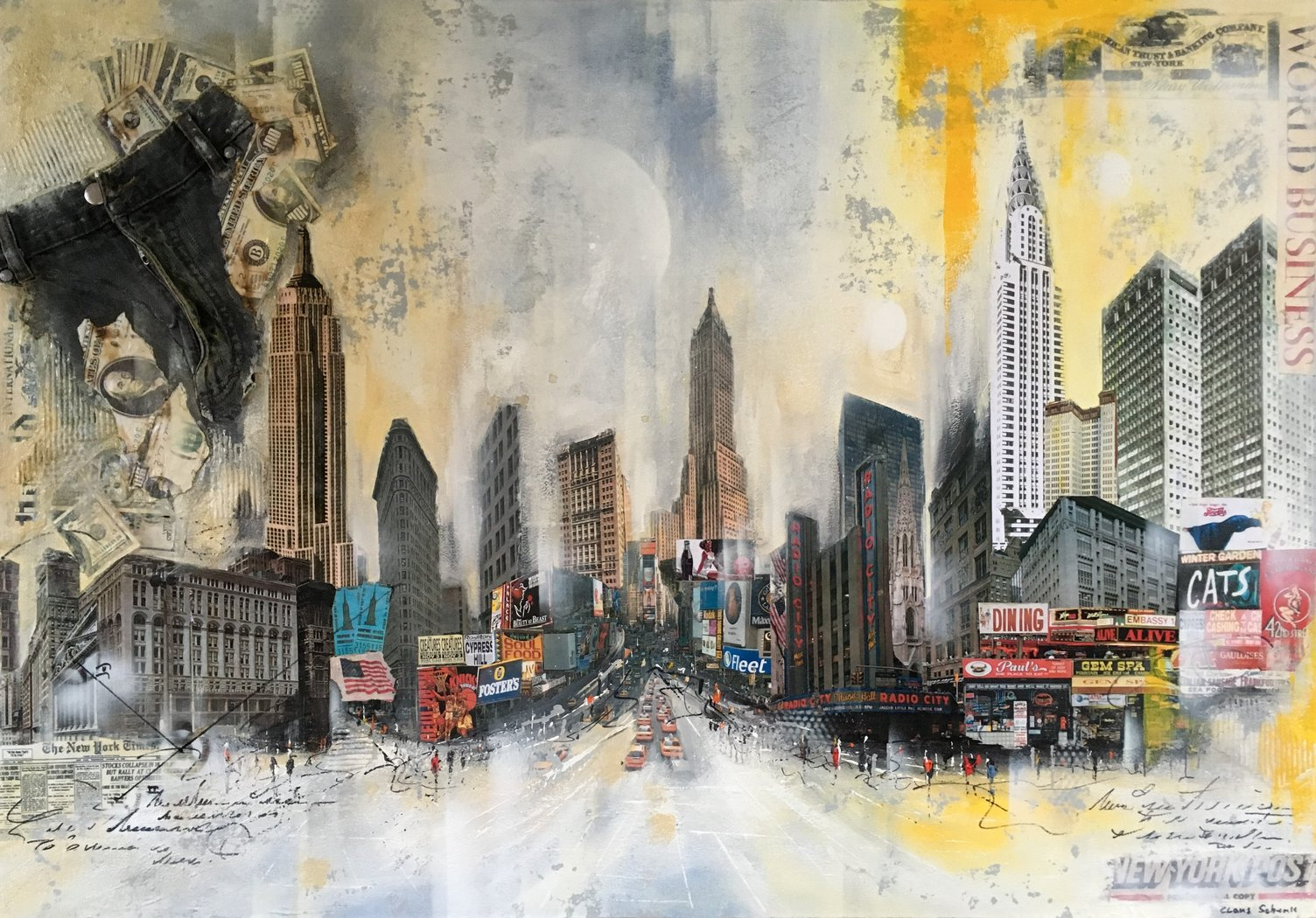 Claus Schenk - NY