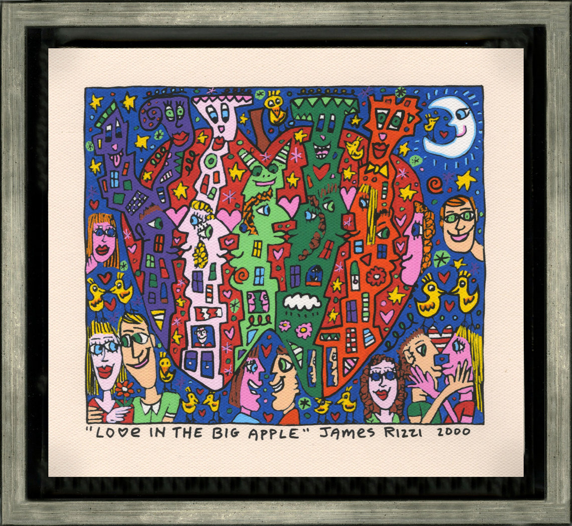 James Rizzi - LOVE IN THE BIG APPLE