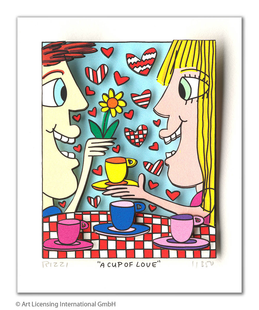James Rizzi - A CUP OF LOVE