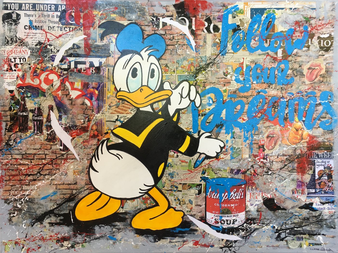 Claus Schenk - Donald Duck - Follow your dreams