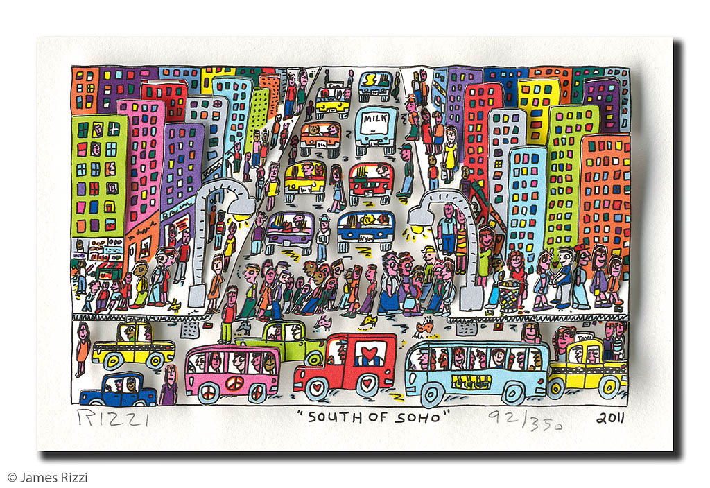 James Rizzi - South of Soho