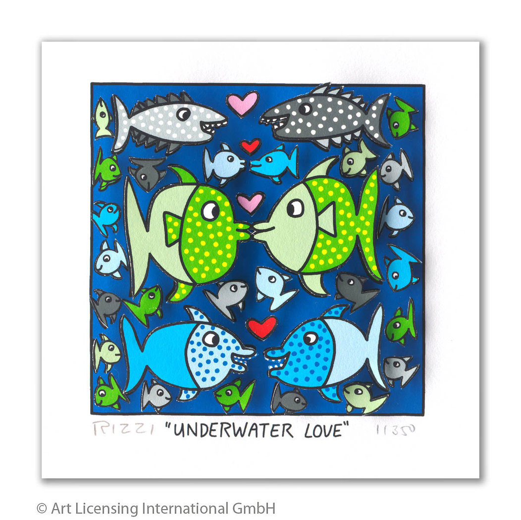 James Rizzi - UNDERWATER LOVE