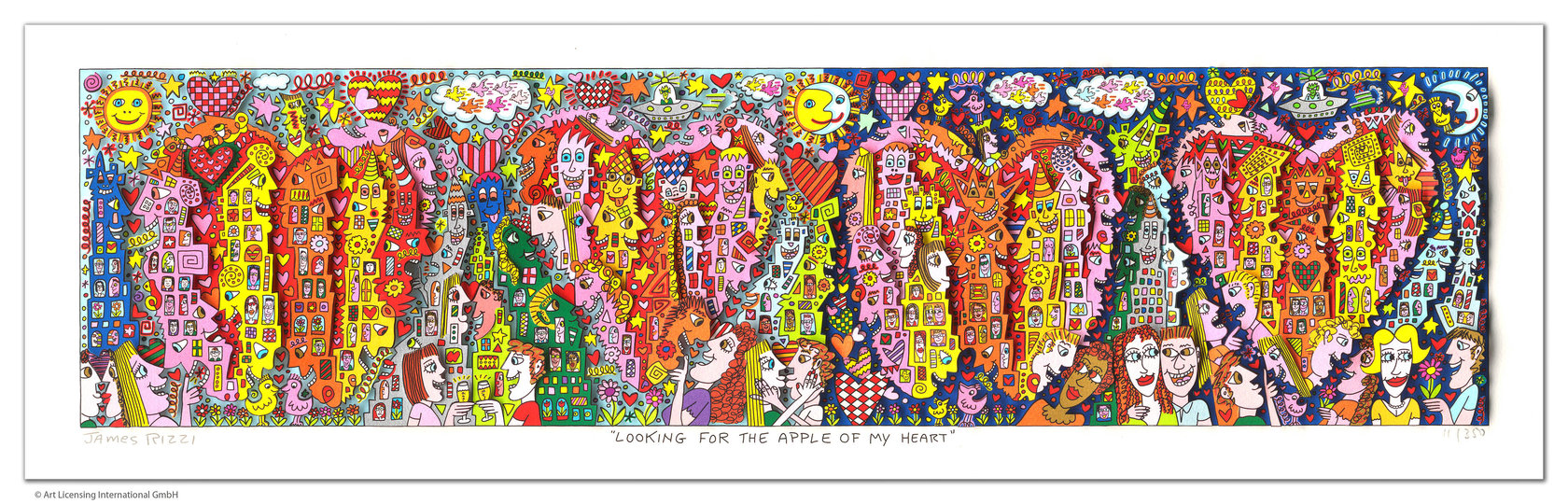James Rizzi - LOOKING FOR THE APPLE OF MY HEART