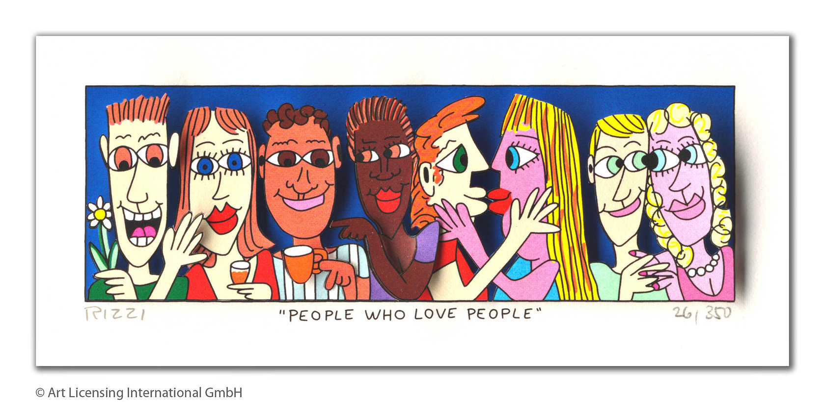 James Rizzi - PEOPLE WHO LOVE PEOPLE